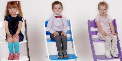 Растущий стул для сохранения осанки и удобства родителей